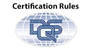 Certification Rules