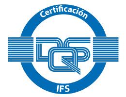 logo certificación iso ifs