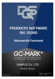 GC Mark ISO 25000